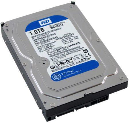 """Használt BRAND 1000GB 1TB 3.5"""" HDD merevlemez 100% kondíció 6hó"""