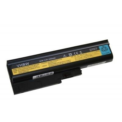 IBM 40Y6795, 40Y6797, 40Y6799, 41N5666 utángyártott laptop akkumulátor akku - 4400mAh (10.8V) fekete