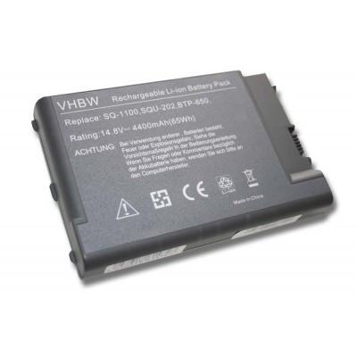 Acer BTP-650 utángyártott laptop akkumulátor akku - 4400mAh (14.8V) fekete