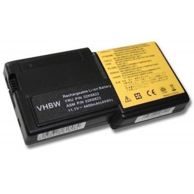 IBM 02K6821, 02K6822 ThinkPad R30 R31 utángyártott laptop akkumulátor akku - 4400mAh (11.1V) fekete