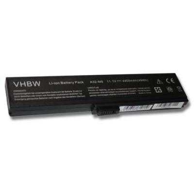 Asus A32-M9, A32-W7 utángyártott laptop akkumulátor akku - 4400mAh (11.1V) fekete