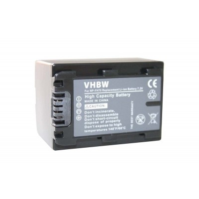 Sony NP-FH70  videókamera utángyártott li-ion akku akkumulátor - 950mAh (7.2V) info chippel