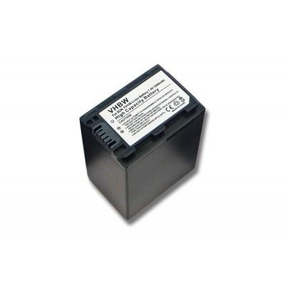 Sony NP-FH100 videókamera utángyártott li-ion akku akkumulátor - 3300mAh (7.4V) információs chippel