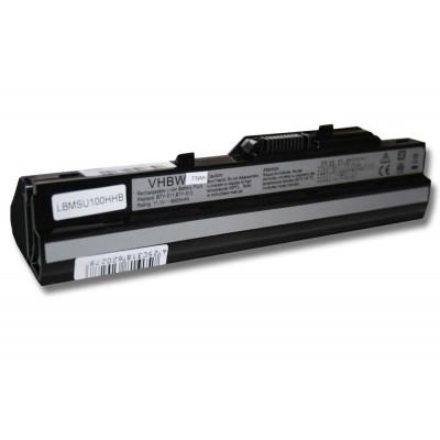 Medion BTP-S11, BTP-S12, BTY-S11, BTY-S12, BTY-S13 utángyártott laptop akkumulátor akku - 6600mAh (11.1V) fekete
