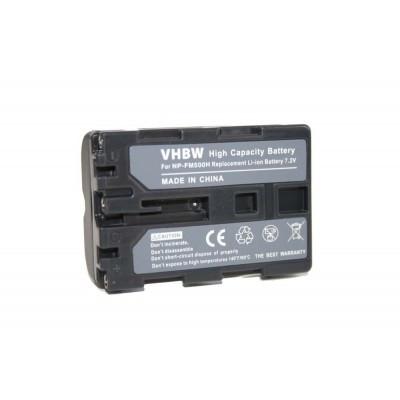 Sony NP-FM500H  utángyártott digitális fényképezőgép akkumulátor akku 1200mAh (7.2V)