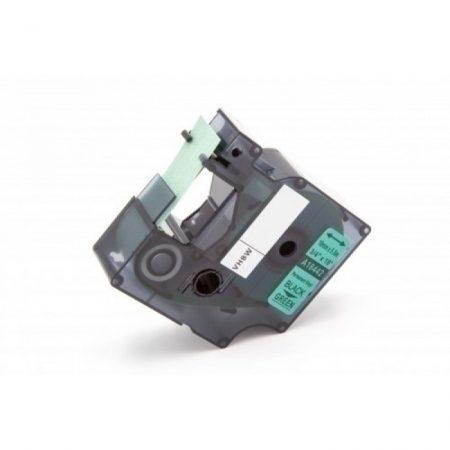 Dymo ID1 18442 zöld alapon fekete 19mm * 5m ipari nylon feliratozószalag kazetta