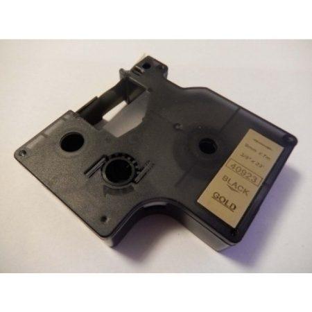 Dymo D1 40923 9mm * 7m fekete-arany feliratozógép-szalag