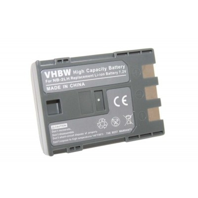 Canon NB-2L videókamera utángyártott li-ion akku akkumulátor - 600mAh (7.2V)