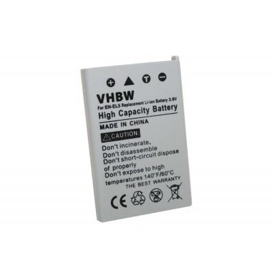 Nikon EN-EL5 utángyártott digitális fényképezőgép akkumulátor akku 1000mAh (3.6V)