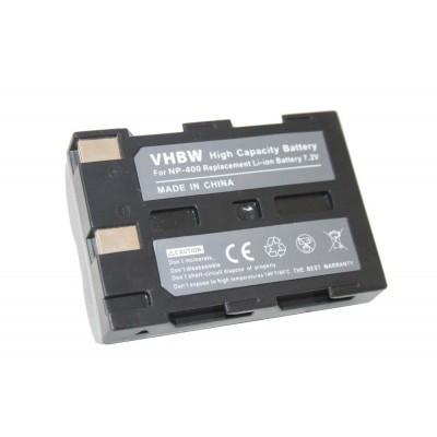 Konica Minolta NP-400 utángyártott digitális fényképezőgép akkumulátor akku (7.2V)
