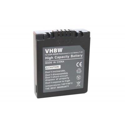 Panasonic DMW-BM7 utángyártott digitális fényképezőgép akkumulátor akku 550mAh (7.2V)