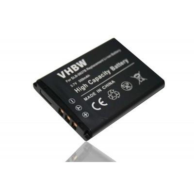 Samsung SLB-0837b utángyártott digitális fényképezőgép akkumulátor akku 500mAh (3.7V)