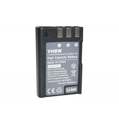 Nikon EN-EL9 utángyártott digitális fényképezőgép akkumulátor akku 900mAh (7.2V)