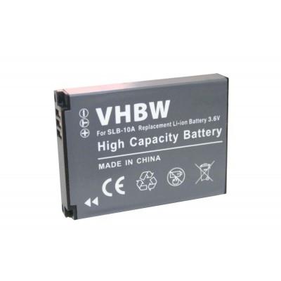 Samsung SLB-10A  videókamera utángyártott li-ion akku akkumulátor - 700mAh (3.6V)