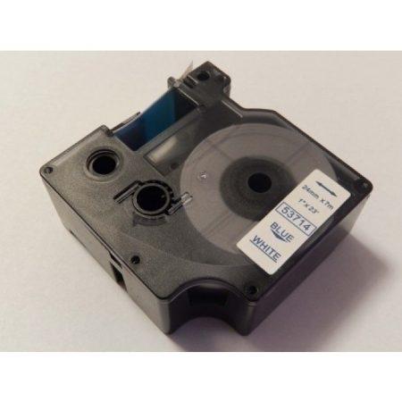 Dymo D1 53714 fehér alapon kék 24mm * 7m feliratozószalag kazetta