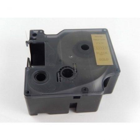 Dymo D1 53723 Arany alapon Fekete 24mm * 7m feliratozószalag kazetta
