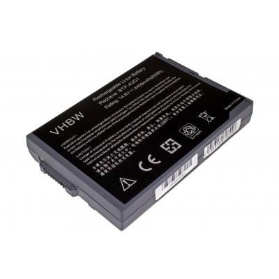 Acer BTP-43D1 utángyártott laptop akkumulátor akku - 4400mAh (14.8V) fekete