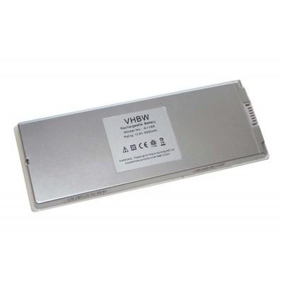 Apple A1185 utángyártott laptop akkumulátor akku - 5000mAh (10.8V) fehér