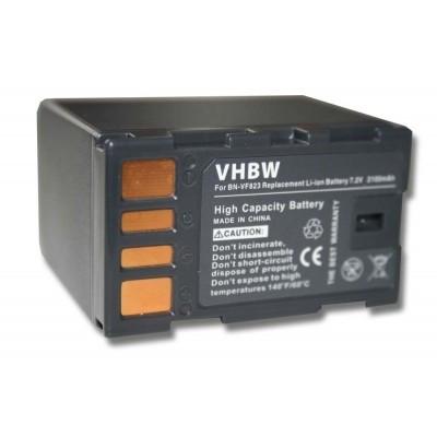 JVC BN-VF823 videókamera utángyártott li-ion akku akkumulátor - 2100mAh (7.2V) információs chippel