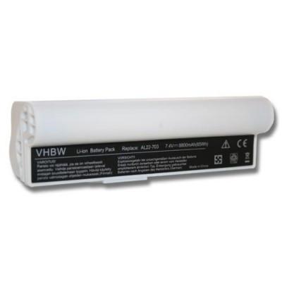 Asus AL22-703 utángyártott laptop akkumulátor akku - 8800mAh (7.4V) fehér