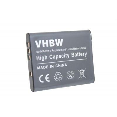 Sony NP-BK1 videókamera utángyártott li-ion akku akkumulátor - 600mAh (3.6V)
