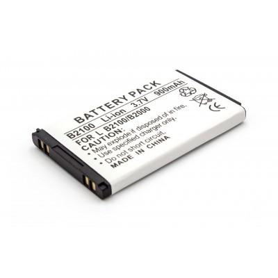LG CB630 CE110 stb. kompatibilis utángyártott li-ion mobiltelefon akkumulátor - 900mAh (3.7V)