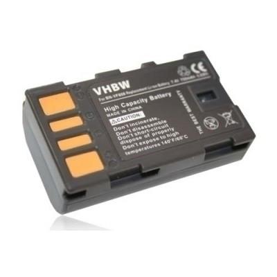 JVC BN-VF808 videókamera utángyártott li-ion akku akkumulátor - 750mAh (7.4V) információs chippel