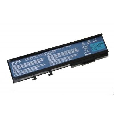 Acer BTP-ASJ1 utángyártott laptop akkumulátor akku - 4400mAh (11.1V) fekete