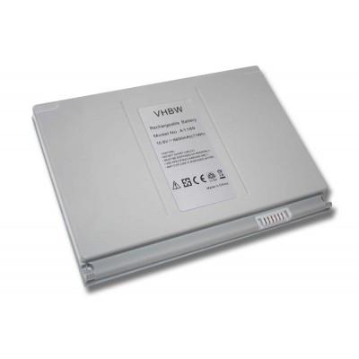 Apple A1189 MacBook Pro 17 utángyártott laptop akkumulátor akku - 6600mAh (10.8V) silver