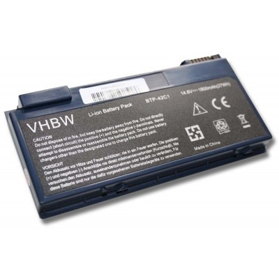 Acer BTP-42C1 utángyártott laptop akkumulátor akku - 1800mAh (14.8V) fekete