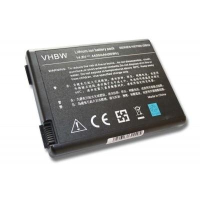 HP / CompaQ 346970-001, 350836-001, 371914-001, 378858-001, 378859-001 utángyártott laptop akkumulátor akku - 4400mAh (14.8V) fekete
