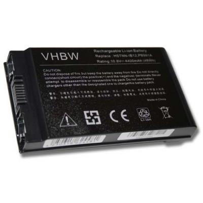 HP 381373-001, 383510-001 utángyártott laptop akkumulátor akku - 4400mAh (10.8V) fekete