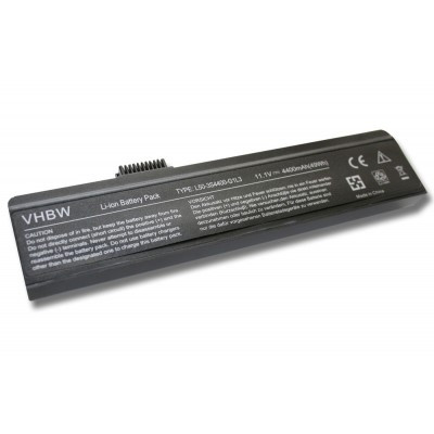 Fujistu-Siemens 805N00045 utángyártott laptop akkumulátor akku - 4400mAh (11.1V) fekete