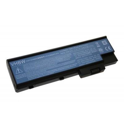 Acer BT.00803.014, LC.BTP01.013, LC.BTP01.014 utángyártott laptop akkumulátor akku - 4400mAh (14.8V) fekete