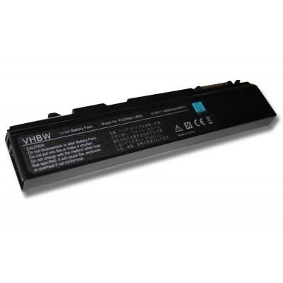 Toshiba PABAS048, PABAS049, PABAS054, PABAS066, PABAS071, PABAS105, PABAS162 utángyártott laptop akkumulátor akku - 4400mAh (10.8V) fekete