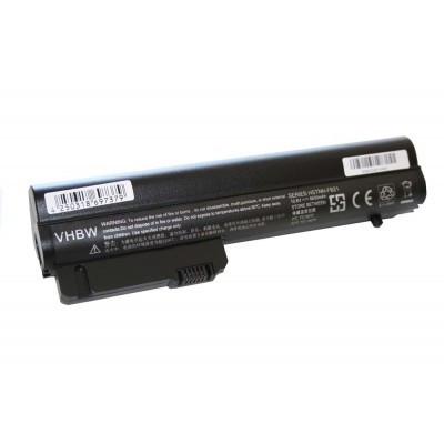 HP HSTNN-DB22, HSTNN-DB23, HSTNN-DB67, HSTNN-FB21, HSTNN-XB21 EliteBook 2530p, 2540p stb. utángyártott laptop akkumulátor akku - 6600mAh (10.8V) fekete