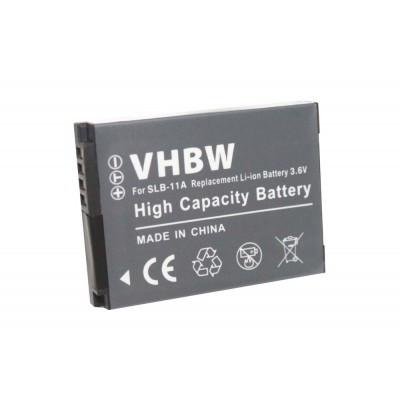 Samsung SLB-11a utángyártott digitális fényképezőgép akkumulátor akku 700mAh (3.6V)