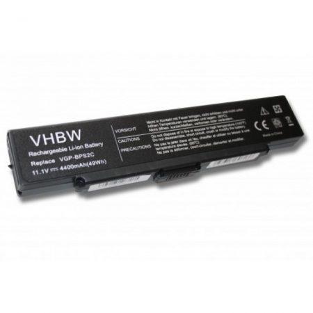 Sony VAIO as BPS2 stb. kompatibilis utángyártott 4400 mAh notebook akkumulátor