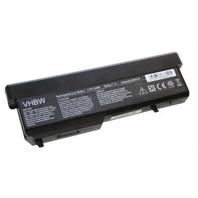 Dell Vostro 1310 / 1320 / 1510 / 1520 (2510 312-0724, 312-0725, 312-0859, 312-0922) utángyártott laptop akkumulátor akku - 6600mAh (11.1V) fekete