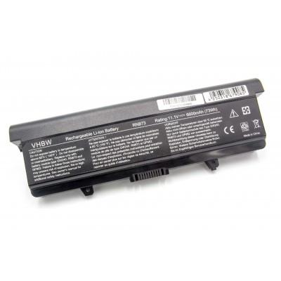 Dell 0GW252, GP952, GW240, GW252 (Inspiron 1525 / 1526 / 1545 / 1546 Vostro 500) utángyártott laptop akkumulátor akku - 6600mAh (11.1V) fekete
