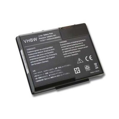 HP 336962-001, 337607-001, 337607-002 utángyártott laptop akkumulátor akku - 4400mAh (14.8V) fekete