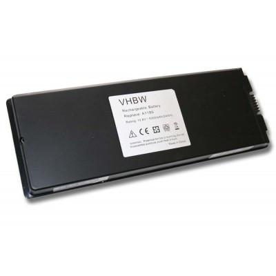 Apple MacBook A1181, A1185 utángyártott laptop akkumulátor akku - 5000mAh (10.8V) fekete