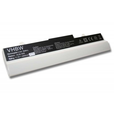 Asus AL31-1005, AL32-1005 Eee PC 1001 / 1005 utángyártott laptop akkumulátor akku - 4400mAh (11.1V) fehér