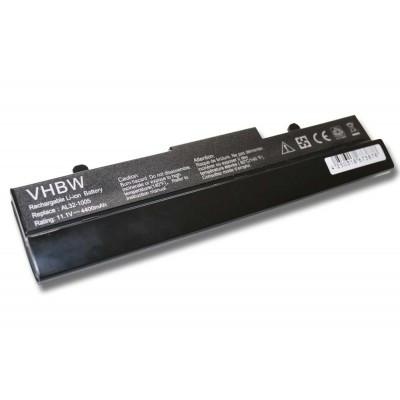 Asus AL31-1005, AL32-1005 EEE PC 1001, 1005 utángyártott laptop akkumulátor akku - 4400mAh (11.1V) fekete