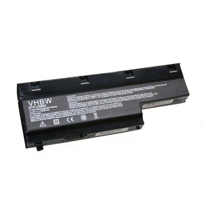 Medion BTP-D4BM, (Akoye E7211, MD97288 stb.) utángyártott laptop akkumulátor akku - 4400mAh (14.8V) fekete