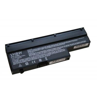 Medion BTP-CMBM, BTP-CNBM, BTP-CWBM, BTP-D2BM utángyártott laptop akkumulátor akku - 4400mAh (14.8V) fekete