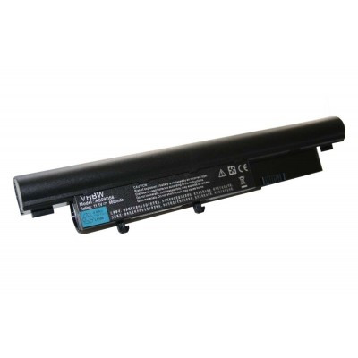 Acer AS09D31, AS09D34, AS09D36, AS09D41 utángyártott laptop akkumulátor akku - 6600mAh (11.1V) fekete