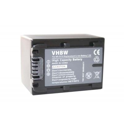 Sony NP-FV70 videókamera utángyártott li-ion akku akkumulátor - 1300mAh (7.2V) információs chippel