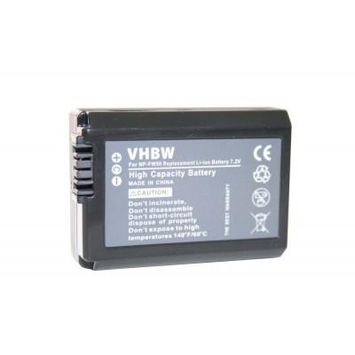 Sony NP-FW50  utángyártott digitális fényképezőgép akkumulátor akku 950mAh (7.2V)