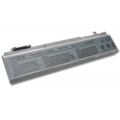 Dell 312-0748, 312-0754, 312-0917, 312-7414 utángyártott laptop akkumulátor akku - 4400mAh (11.1V) ezüst-szürke